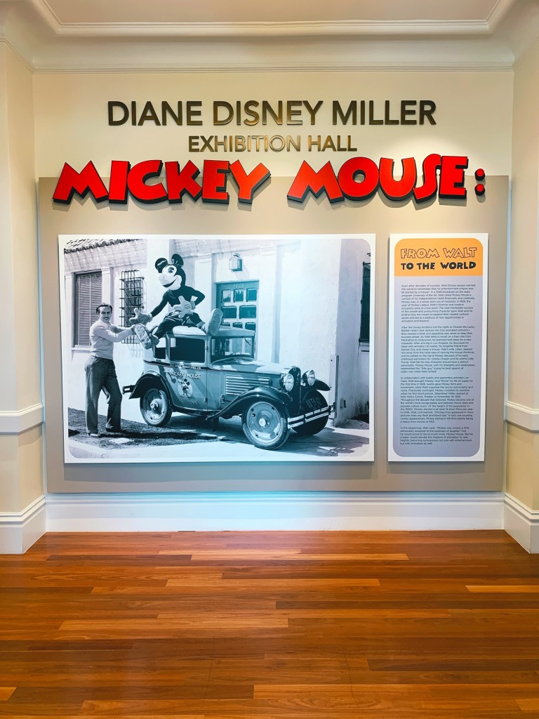 Diane Disney Miller Exhibit Hall Mickey Mouse: From Walt to the World
