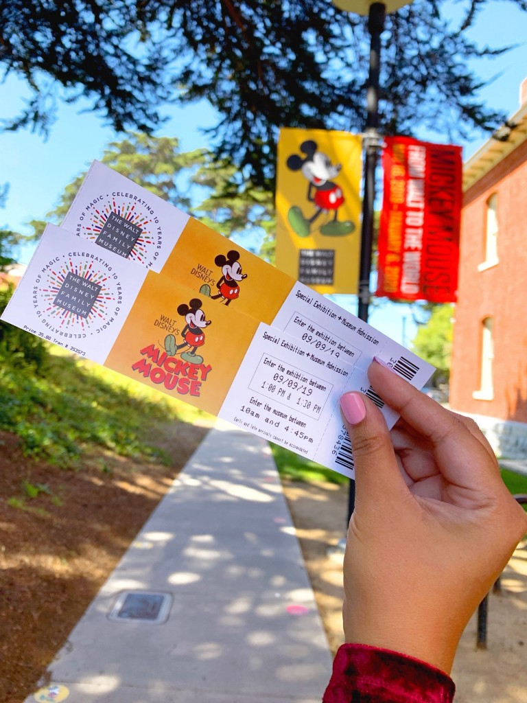 Tickets to the Mickey Exhibit