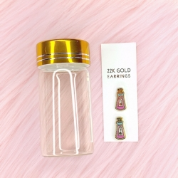 22K Gold Plated Kuzco's Poison - Earrings