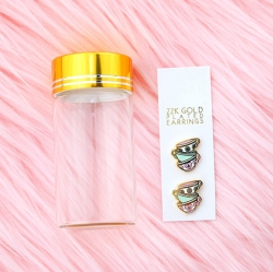 22K Gold Plated Wonderland Teacups - Earrings