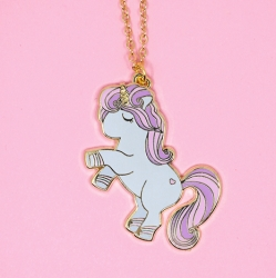 22K Gold Unicorn - Necklace