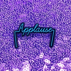 A Whole New World - Applause - Glow-in-the-Dark - Enamel Pin