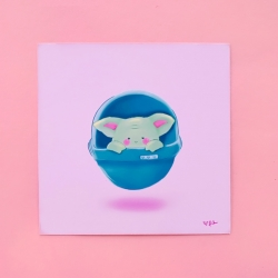 Baby in Orb - Print
