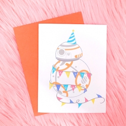BB8 Birthday - Card