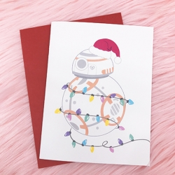 BB8 Holiday - Card