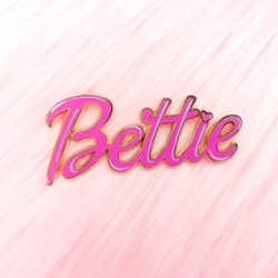 Bettie Page™ - Bettie Name - Enamel Pin