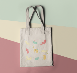 Cat Party - Tote Bag