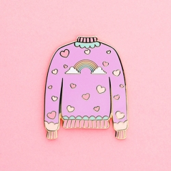Cute Sweater - Enamel Pin