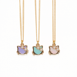 Kitty Enamel - Necklace
