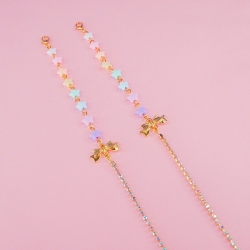 Pastel Star - Mask Chain