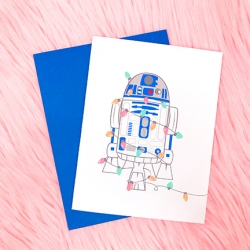 R2D2 Holiday - Card