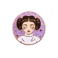 Space Princess - Enamel Pin