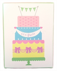 Wedding Cake - Card